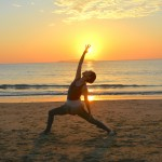 Sunset Beach Yoga Fukuma2016