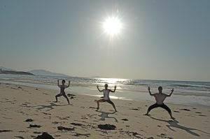 Sunset Beach Yoga 2008