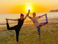 Fukuoka Yoga Sunset Beach Yoga