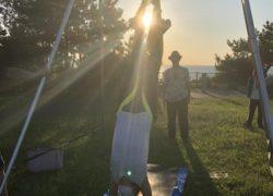FitDiva Beach Yoga